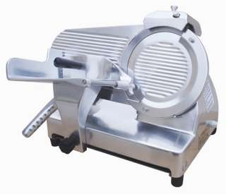 Light Duty Food Slicer , 1/3HP knife motor, 12 blade, Anodized