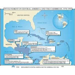 Maps   U.S. Intervention in Latin America & Caribbean