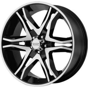 American Racing Mainline 16x8 Machined Black Wheel / Rim 6x135 with a