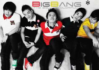 BIG BANG BOY BAND A3 POSTER PRINT AMK1034