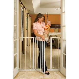 Regalo White Extra Tall Widespan Gate.Opens in a new window