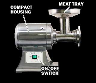 New MTN Commercial Electric Meat Sauage Grinder No #12
