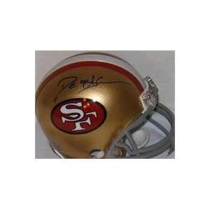 Deion Sanders autographed Football Mini Helmet (San Francisco 49ers)