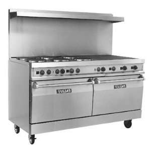 SS6FP24G 60 Medium Duty Electric Restaurant Range With 6 Elements