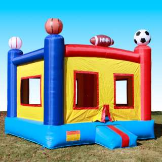 Sports Inflatable Bounce House Jumping Bouncer Commercial Grade Heavy