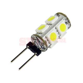 G4 9 LED 5050 Super White RV Marine Boat 9 SMD Light Bulb Lamp